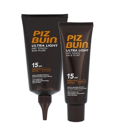 Cosmetic set Piz Buin Ultra Light Dry Touch Sun Fluid SPF15 Kit Cosmetic 200ml Paveikslėlis 1 iš 1 310820039485