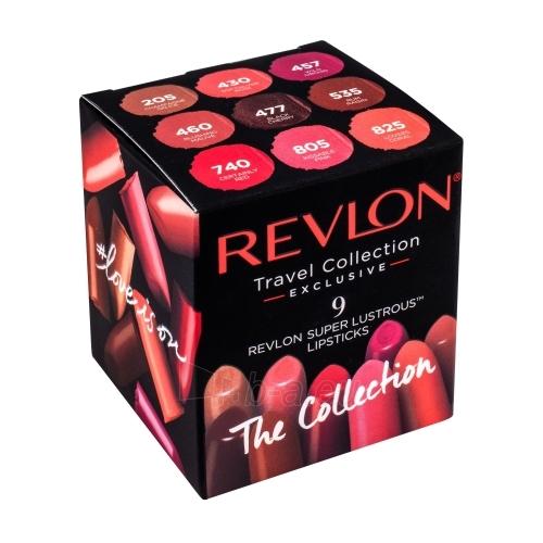 Kosmetikos rinkinys Revlon Super Lustrous Lipsticks Kit Cosmetic 9x4,2g Paveikslėlis 1 iš 1 310820121196