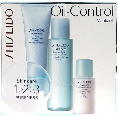 Shiseido cosmetics collection Set Oil Control 205ml Paveikslėlis 1 iš 1 2508200000535