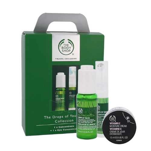 Cosmetic set The Body Shop Drops Of Youth Collection Cosmetic 55ml
