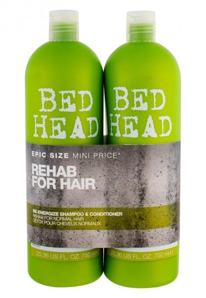 Tigi Bed Head Re-Energize Shampoo Cosmetic 2x750ml Paveikslėlis 1 iš 1 2508200000702