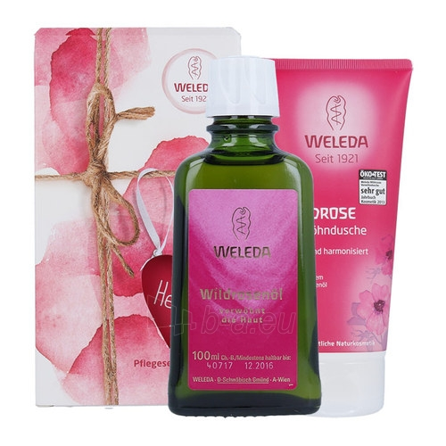 Kosmetikos komplekts Weleda Wildrose Creamy Body Wash Kit Cosmetic 300ml Paveikslėlis 1 iš 1 310820027273