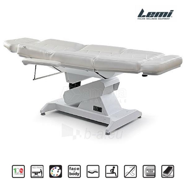 Kosmetologinis krėslas - kušetė Lemi 3 Paveikslėlis 6 iš 8 310820199711