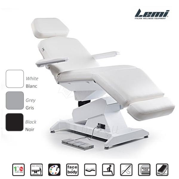 Kosmetologinis krėslas - kušetė Lemi Syncro Bi-Zak Paveikslėlis 1 iš 10 310820199714