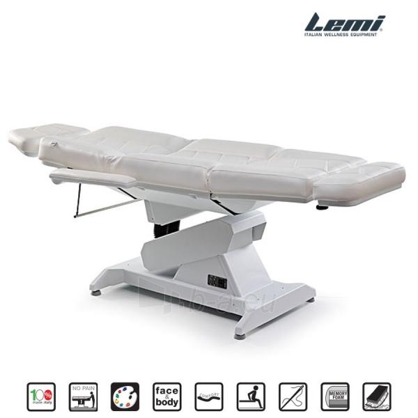Kosmetologinis krėslas - kušetė Lemi Syncro Bi-Zak Paveikslėlis 2 iš 10 310820199714