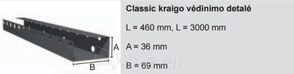 Kraigo vėdinimo detalė Classic Ruukki® 50 Plus Matt 460 mm Paveikslėlis 1 iš 2 310820025928