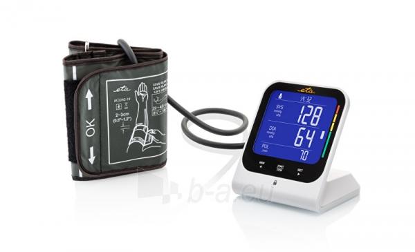 Kraujospūdžio matuoklis ETA Arm blood pressure monitor with bluetooth and adapter 4297 90000 Paveikslėlis 4 iš 5 310820229031