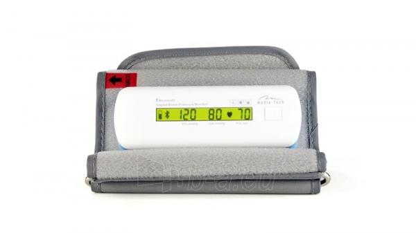 Kraujospūdžio matuoklis SMART BLOOD PRESSURE BT - LCD, BLUETOOTH 4.0, AUTOMATIC PUMP Paveikslėlis 2 iš 4 310820147601