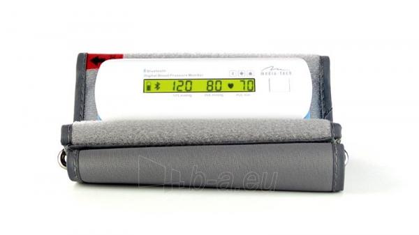 Kraujospūdžio matuoklis SMART BLOOD PRESSURE BT - LCD, BLUETOOTH 4.0, AUTOMATIC PUMP Paveikslėlis 3 iš 4 310820147601