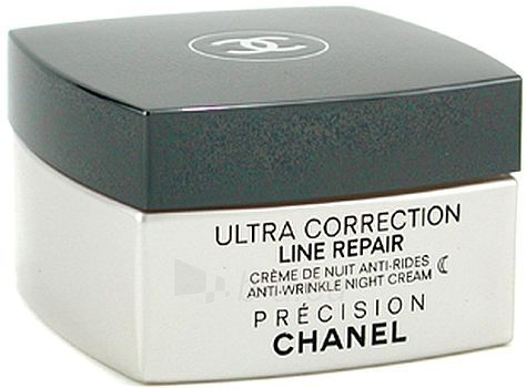 Chanel Ultra Correction Line Repair AntiWri Night Cream Cosmetic 50g Paveikslėlis 1 iš 1 250840400150