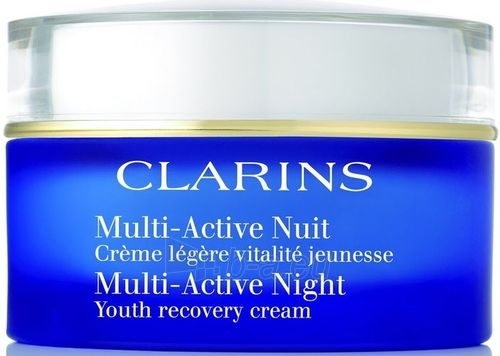 Clarins Multi Active Night Cream Combination Skin Cosmetic 50ml Paveikslėlis 1 iš 1 250840400285