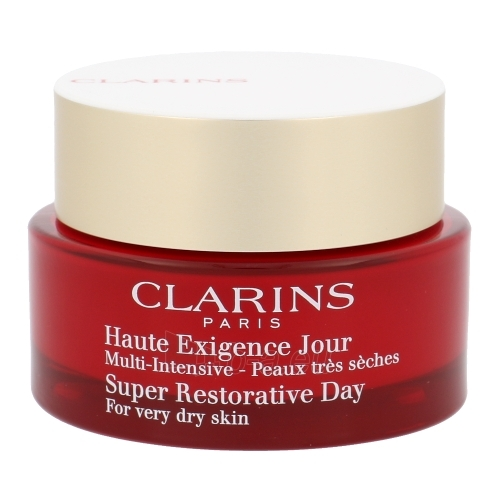 Clarins Super Restorative Day Cream Dry Skin Cosmetic 50ml (damaged packaging) Paveikslėlis 1 iš 1 250840401052
