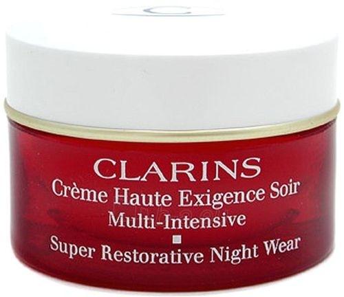 Kremas veidui Clarins Super Restorative Night Wear Cosmetic 50ml (Damaged box) Paveikslėlis 1 iš 1 250840400744