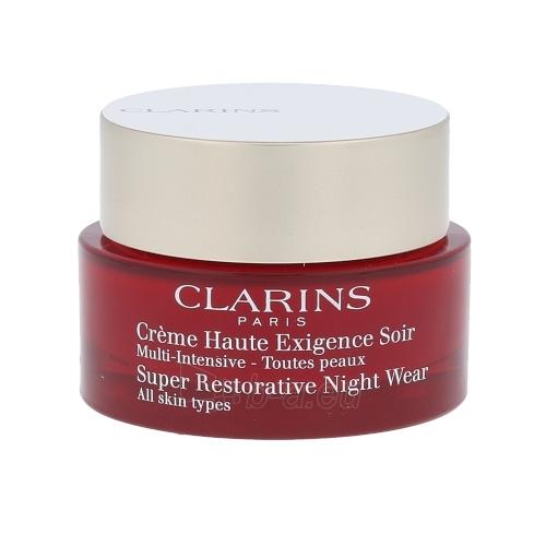 Clarins Super Restorative Night Wear Cosmetic 50ml. Paveikslėlis 1 iš 1 250840400947