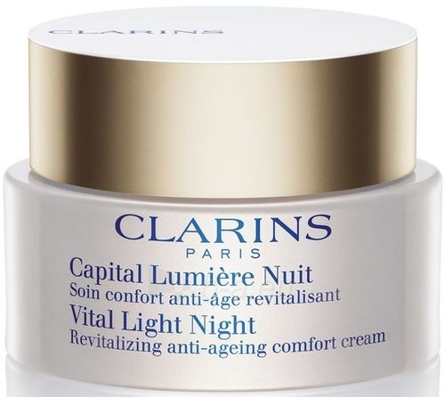 Clarins Vital Light Night Comfort Cream Cosmetic 50ml Paveikslėlis 1 iš 1 250840400297