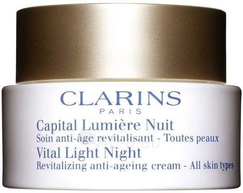 Clarins Vital Light Night Cream Cosmetic 50ml (without box) Paveikslėlis 1 iš 1 250840400965