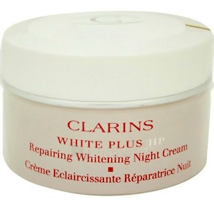 Clarins White Plus HP Repairing Whitening Night Cream Cosmetic 50ml Paveikslėlis 1 iš 1 250840400299
