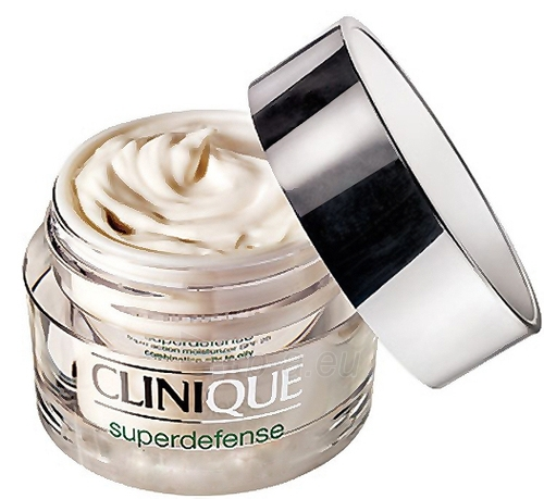 Clinique Superdefense SPF25 Age Defense Moisturizer Cosmetic 30ml (combination and oily skin) Paveikslėlis 1 iš 1 250840400242