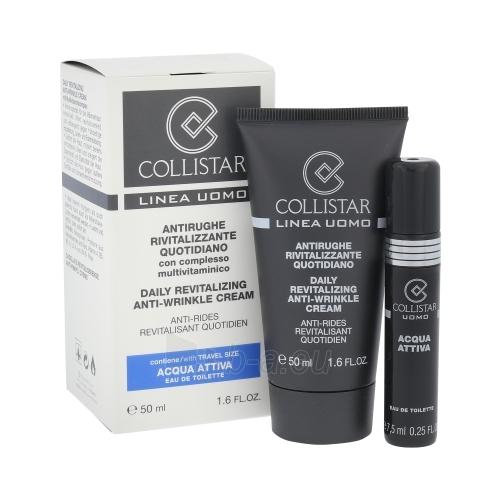 Kremas veidui Collistar Men Daily Revitalizing Anti-wrinkle Cream Cosmetic 57,5ml Paveikslėlis 1 iš 1 250840402109
