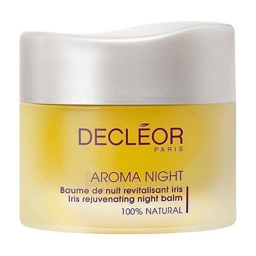 Decleor Aroma Night Iris Rejuvenating Balm Cosmetic 50ml (without box) Paveikslėlis 1 iš 1 250840401430
