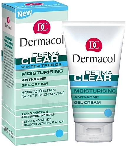 Dermacol Dermaclear Gel-Cream Moisturing Anti-Acne Gel-Crea Cosmetic 50ml Paveikslėlis 1 iš 1 250840400803