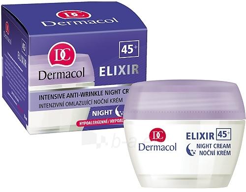 Dermacol Elixir 45+ Night Cream Cosmetic 50ml Paveikslėlis 1 iš 1 250840400805