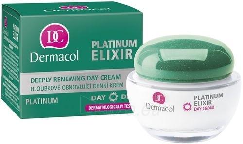 Dermacol Platinum Elixir Day Cream Cosmetic 50ml Paveikslėlis 1 iš 1 250840400361