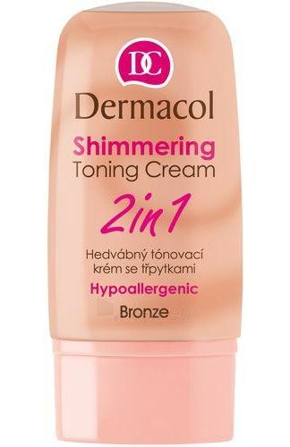 Dermacol Shimmering Toning Cream 2in1-bronze Cosmetic 30ml Paveikslėlis 1 iš 1 250840400368