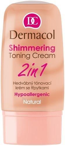 Dermacol Shimmering Toning Cream 2in1-natural Cosmetic 30ml Paveikslėlis 1 iš 1 250840400369