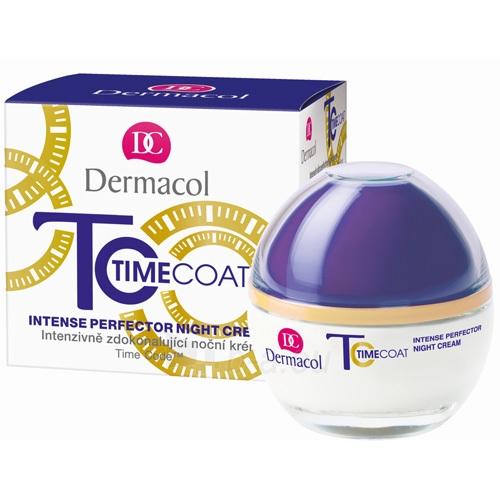 Kremas face Dermacol Time Coat Intense Perfector Night Cream Cosmetic 50ml Paveikslėlis 1 iš 1 250840402313