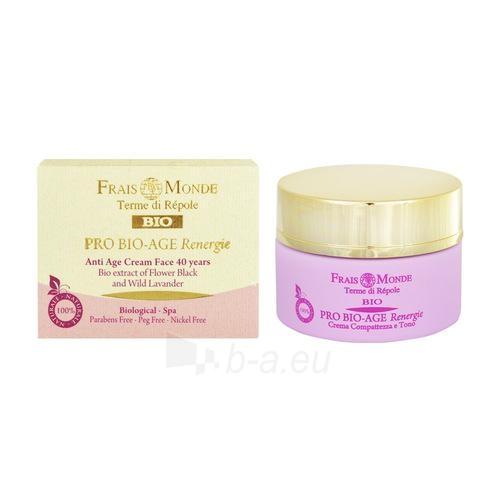 Frais Monde Pro Bio-Age Renergie Anti Age Face Cream 40 Years Cosmetic 50ml Paveikslėlis 1 iš 1 250840402078