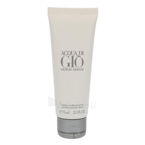 Kremas face Giorgio Armani Acqua di Gio Pour Homme Cream for holení 75ml Paveikslėlis 1 iš 1 250840402374