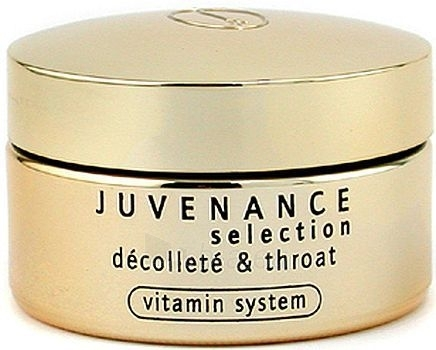 Kremas veidui Juvena Juvenance Selection Decollete Throat Cream Cosmetic 50ml (Damaged box) Paveikslėlis 1 iš 1 250840400769