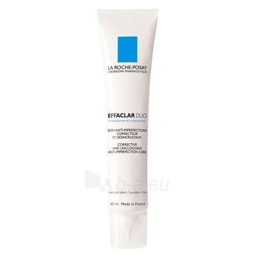 Kremas veidui La Roche-Posay Effaclar Duo Corrective Care Cosmetic 40ml Paveikslėlis 1 iš 1 250840400481
