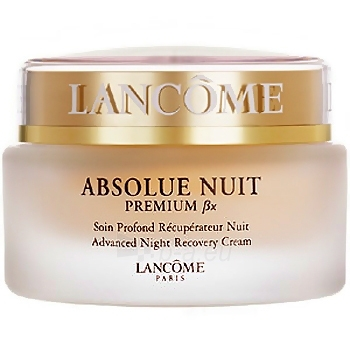 Kremas veidui Lancome Absolue Nuit Premium Bx Advanced Night Cream Cosmetic 75ml Paveikslėlis 1 iš 1 250840400510