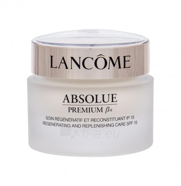 Kremas veidui Lancome Absolue Premium ßx Advanced Replenishing Cream Cosmetic 50ml Paveikslėlis 1 iš 1 250840400276