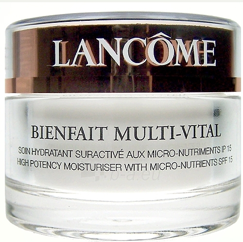 Lancome Bienfait Multi-Vital Soin Hydratant Cosmetic 50ml Paveikslėlis 1 iš 1 250840400522