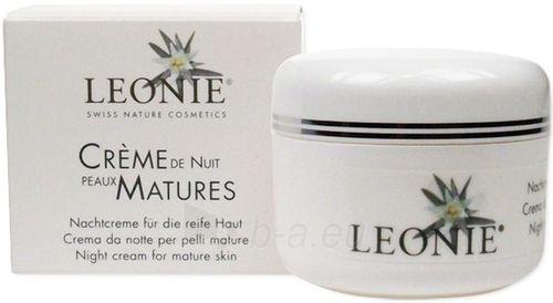 Leonie Night Cream For Mature Skin Cosmetic 50ml Paveikslėlis 1 iš 1 250840400580