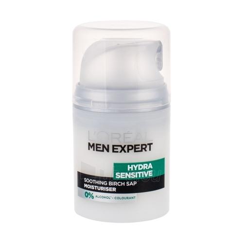 Kremas veidui L´Oreal Paris Men Expert Hydra Sensitive Protecting Moisturiser Cosmetic 50ml Paveikslėlis 1 iš 1 250840401882