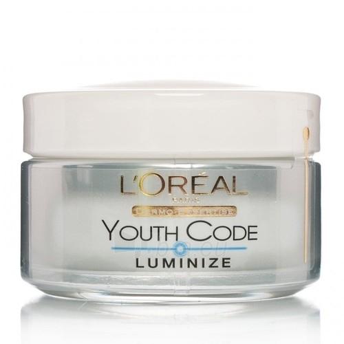 Kremas veidui L´Oreal Paris Youth Code Luminizer Day Cream Cosmetic 50ml Paveikslėlis 1 iš 1 250840401048