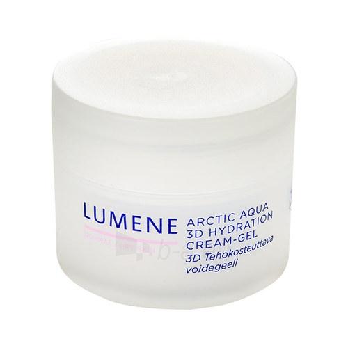 Kremas face Lumene Arctic Aqua 3D Hydration Cream-Gel Cosmetic 50ml For Normal to Dry Skin Paveikslėlis 1 iš 1 310820004432