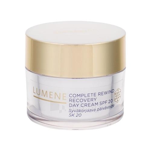 Kremas face Lumene Complete Rewind Recovery Day Cream SPF20 Cosmetic 50ml Paveikslėlis 1 iš 1 310820003478