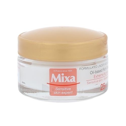 Kremas veidui Mixa Oil-based Rich Cream Cosmetic 50ml Paveikslėlis 1 iš 1 250840402221