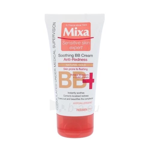 Kremas veidui Mixa Soothing BB Cream Cosmetic 50ml Natural Gold Paveikslėlis 1 iš 1 250840401877