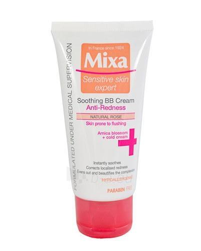 Kremas veidui Mixa Soothing BB Cream Cosmetic 50ml Natural Rose Paveikslėlis 1 iš 1 250840401876