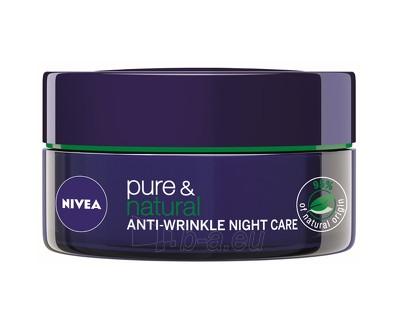Nivea Pure & Natural Night Cream 50 ml Paveikslėlis 1 iš 1 250840401959