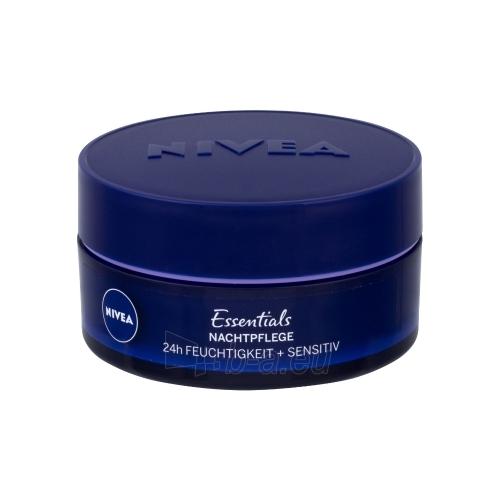 Kremas veidui Nivea Sensitive Night Care Cosmetic 50ml Paveikslėlis 1 iš 1 250840401942