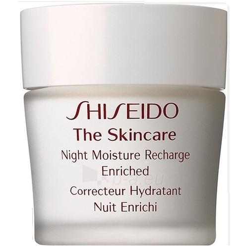 Kremas veidui Shiseido THE SKINCARE Night Moisture Recharge Enriched Cosmetic 50ml (testeris) Paveikslėlis 1 iš 1 250840401033