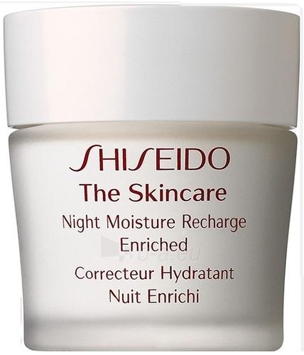 Kremas veidui Shiseido THE SKINCARE Night Moisture Recharge Enriched Cosmetic 50ml Paveikslėlis 1 iš 1 250840400687