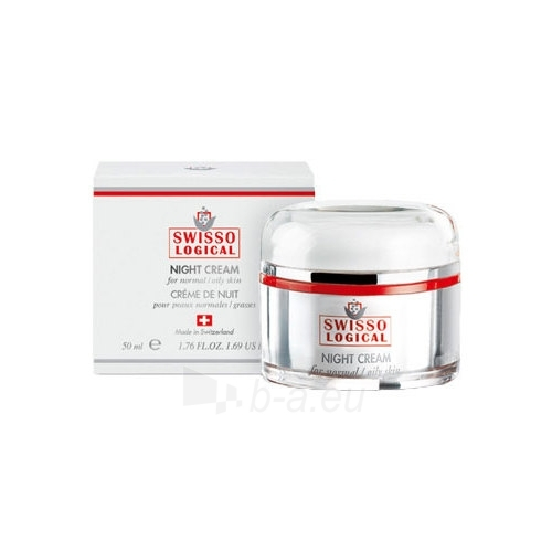 Zepter Swisso Logical Night Cream Dry Skin Cosmetic 50ml Paveikslėlis 1 iš 1 250840400829